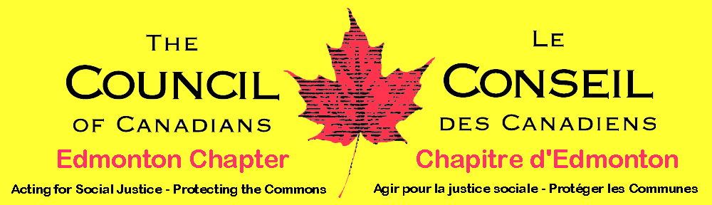 Council of Canadians – Edmonton Chapter